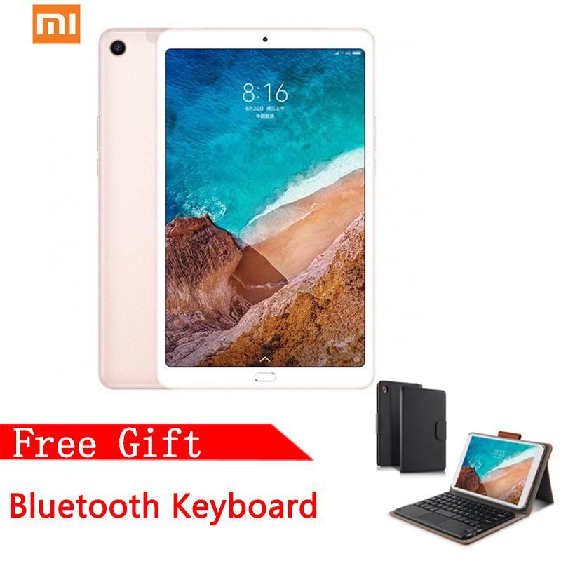【Global Rom】Xiaomi Tablet Mi Pad 4 Wifi Version 3GB+32GB 8 Inch 13MP+5MP  Android 8 1 6000mAh with Free Bluetooth Keyboard