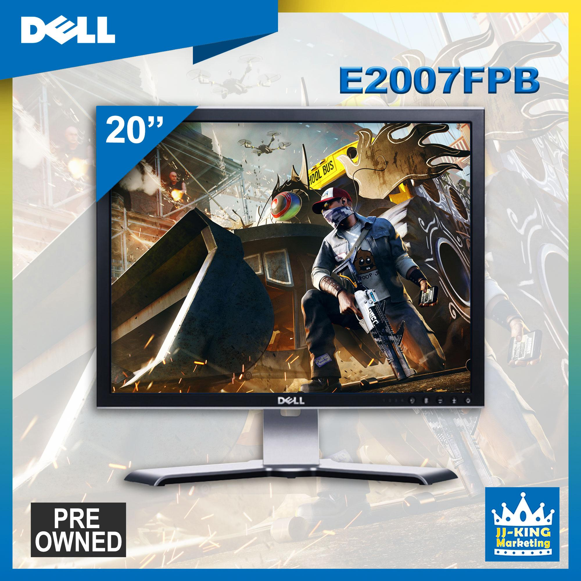 Dell 2007FP 20-inch monitor Flat Panel Display WITH FREE POWER CABLE