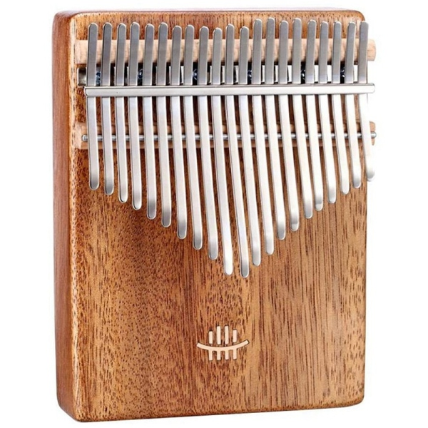 HLURU Kalimba 21 Keys Thumb Piano Upgraded Version, for Kids Adult Beginners Wood Finger Piano