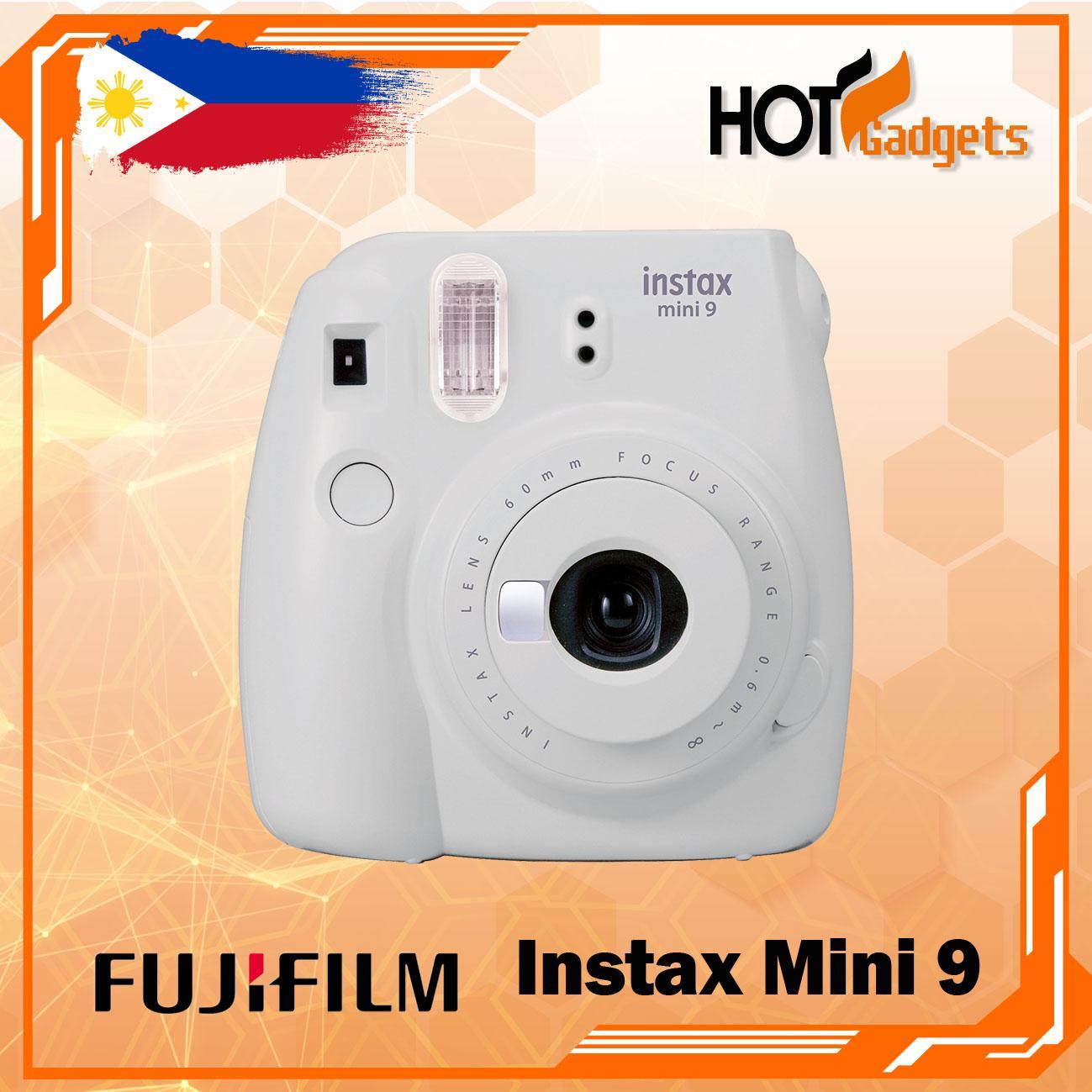 Fujifilm Instax Mini 9 Instant Camera (Smokey White)
