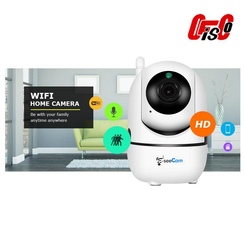 Eseecam 2MP 1080P Wifi auto tracking Dome Mini Cloud Storage IP Camera  (Baby monitor)