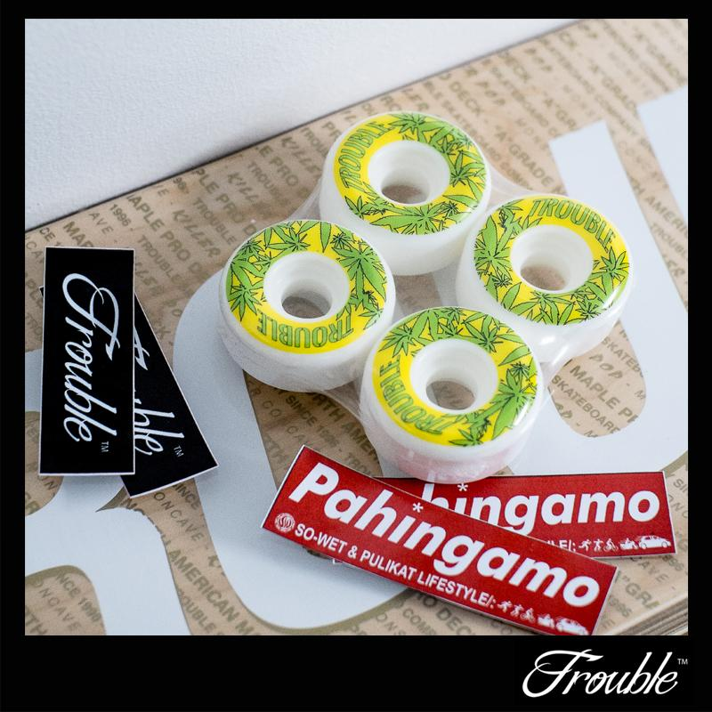 Trouble Skate TNT Wheels Connical 53MM image