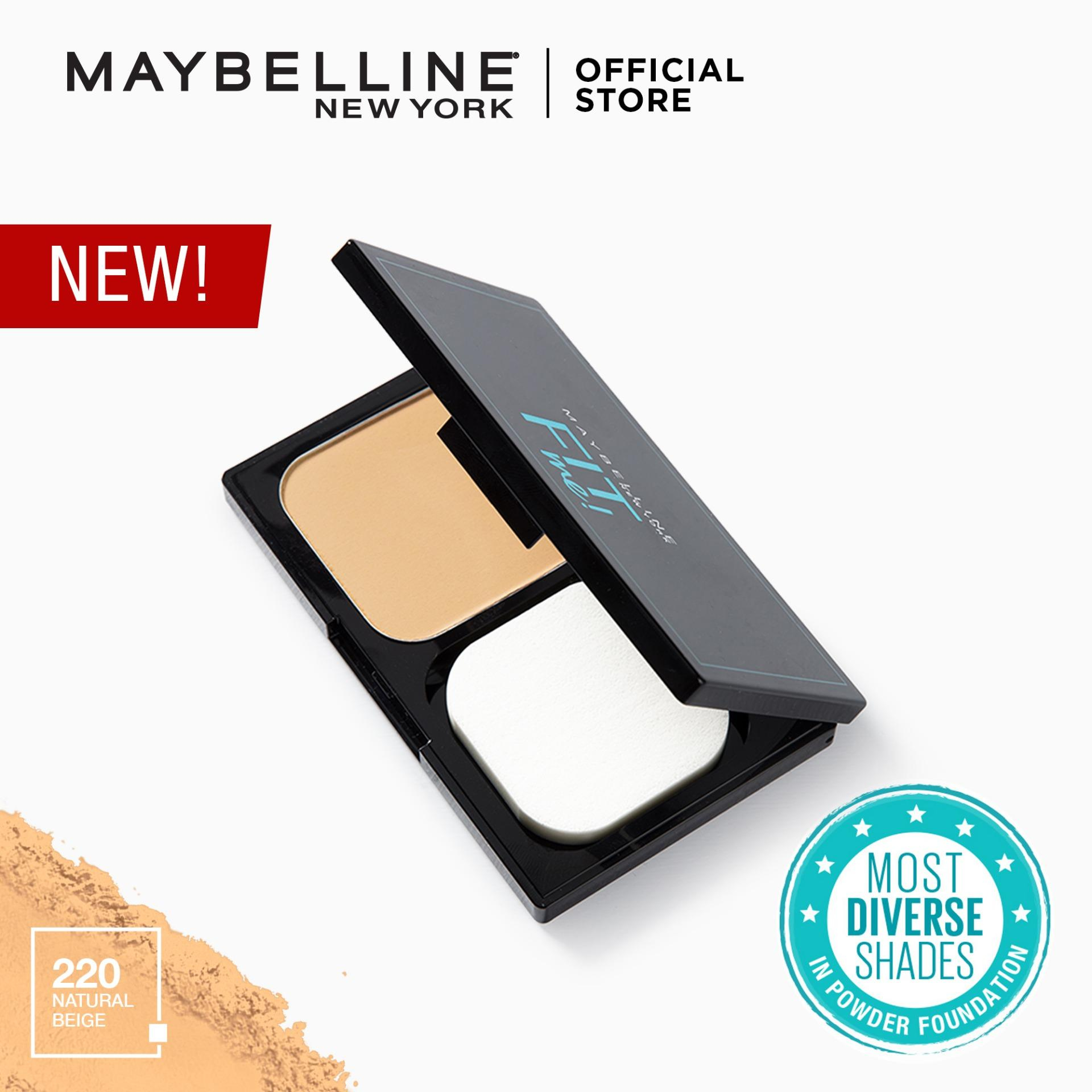 Fit Me Powder Foundation By Maybelline By Maybelline.