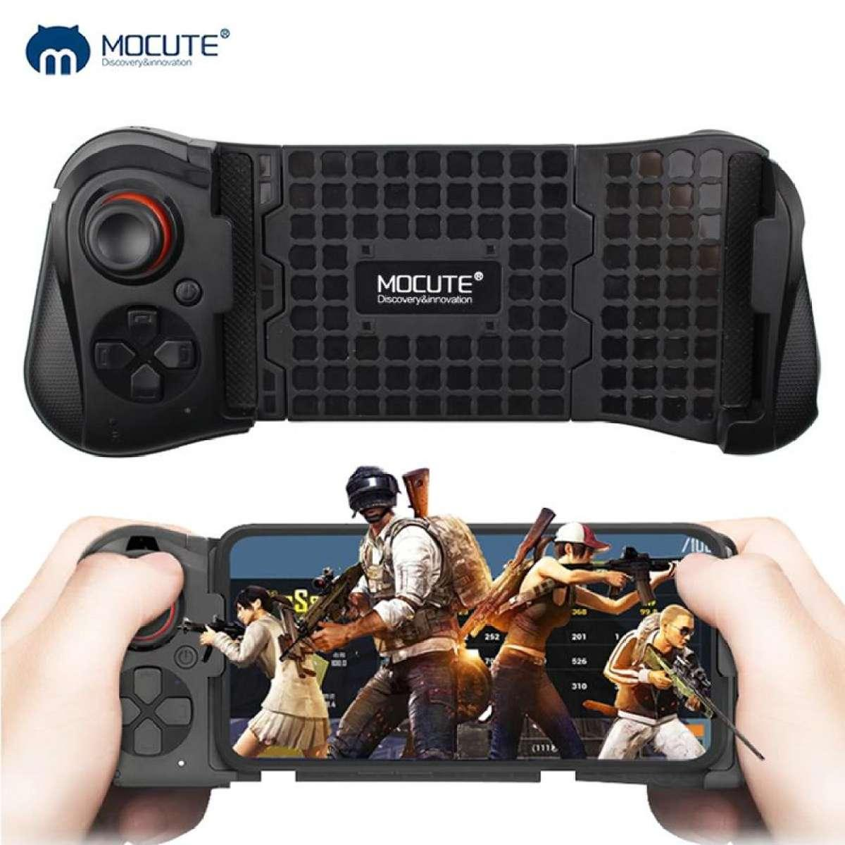 MOCUTE 058 Game Pad wireless Bluetooth Controller Joystick Remote Control  Gamepad for Phone IOS & Android Gamingpad (Black)