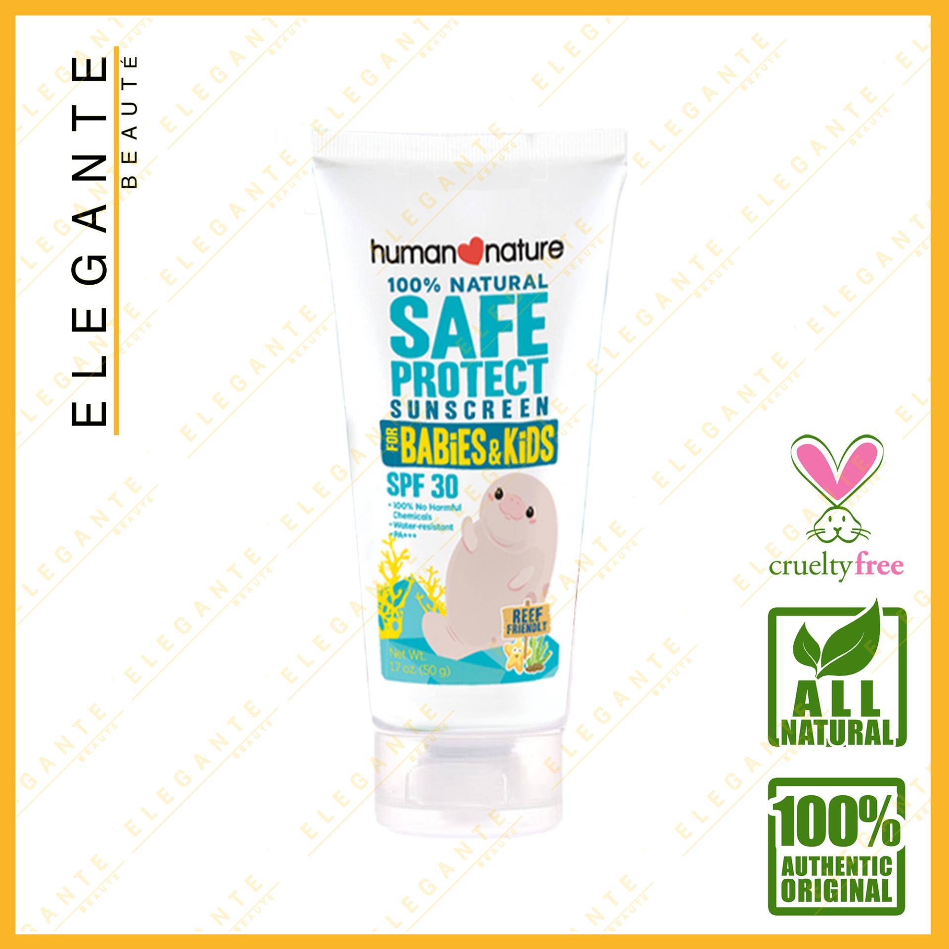 Elegante Beaute Human Nature Natural Sunscreen For Kids Spf 30 50g By Elegante Beaute.