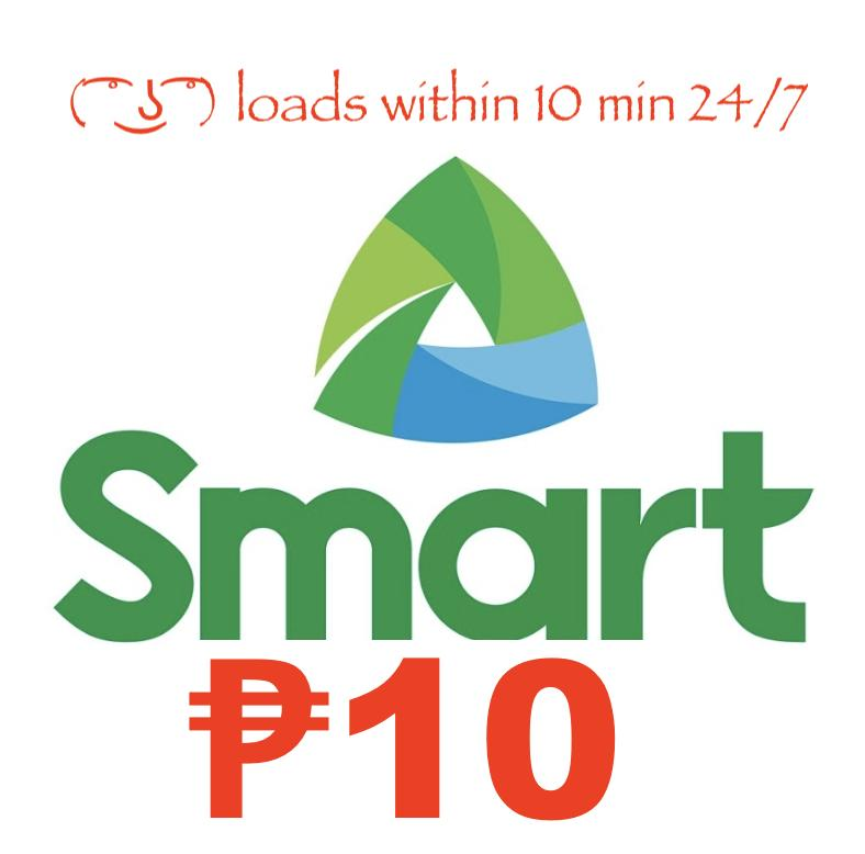 Smart / Tnt Regular Mobile Load 10 Pesos By Acts29.