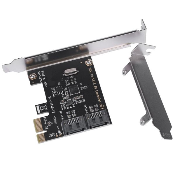 Bảng giá PCIe PCI Express to SATA3.0 2-Port SATA III 6G Expansion Controller Card Adapter Phong Vũ