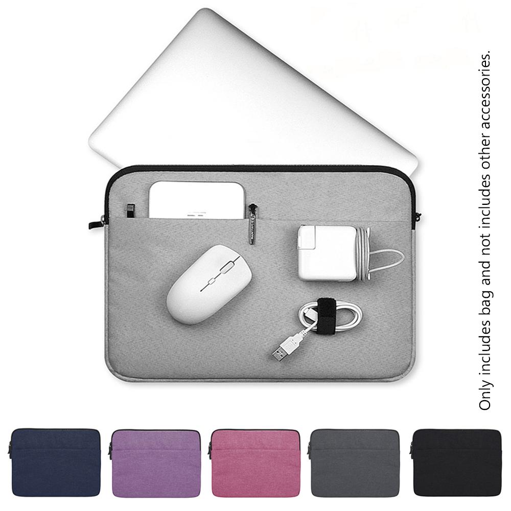 Cucer 11 13 14 15.4 15.6 นิ้วถุงแล็ปท็อปแขนกรณีปกโน๊ตบุ๊คกระเป๋ามัลติฟังก์ชั่.