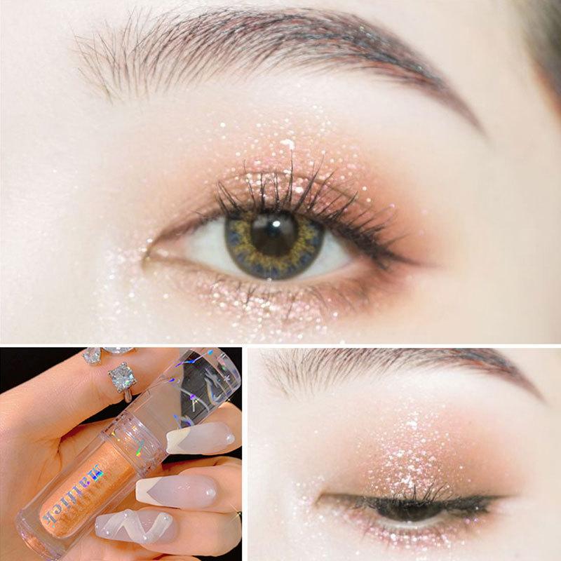 Phấn mắt dạng lỏng có nhũ lấp lánh không thấm nước Bilian - INTL nhập khẩu