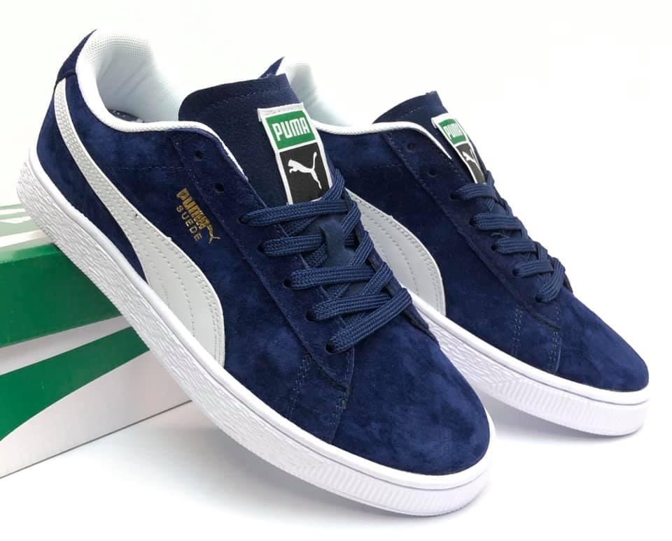 Puma Suede Classic Men's Shoes Navy