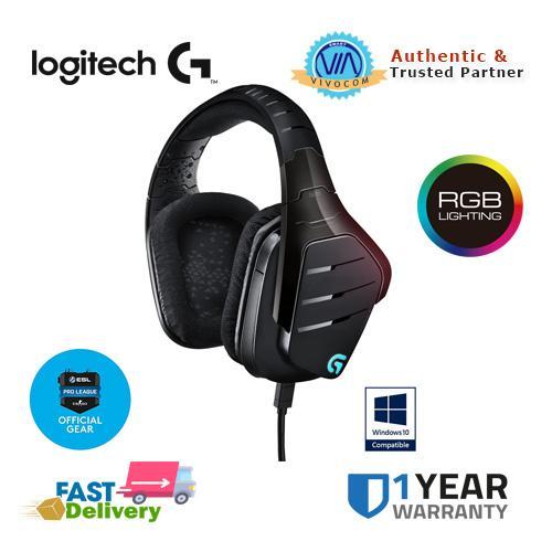 Logitech G633 Artemis Spectrum 7 1 Surround Sound Wired Gaming Headset