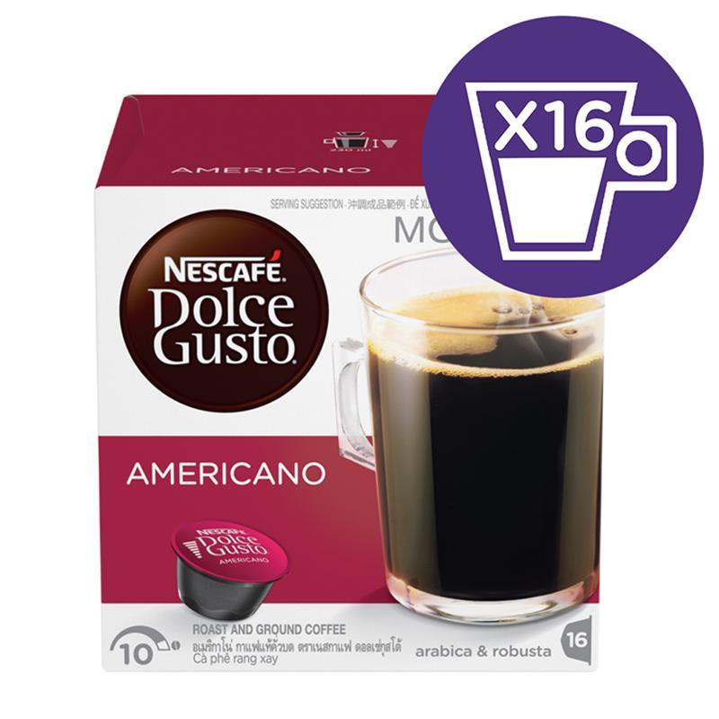 NescafÉ Dolce Gusto Capsule Americano By NescafÉ Dolce Gusto.
