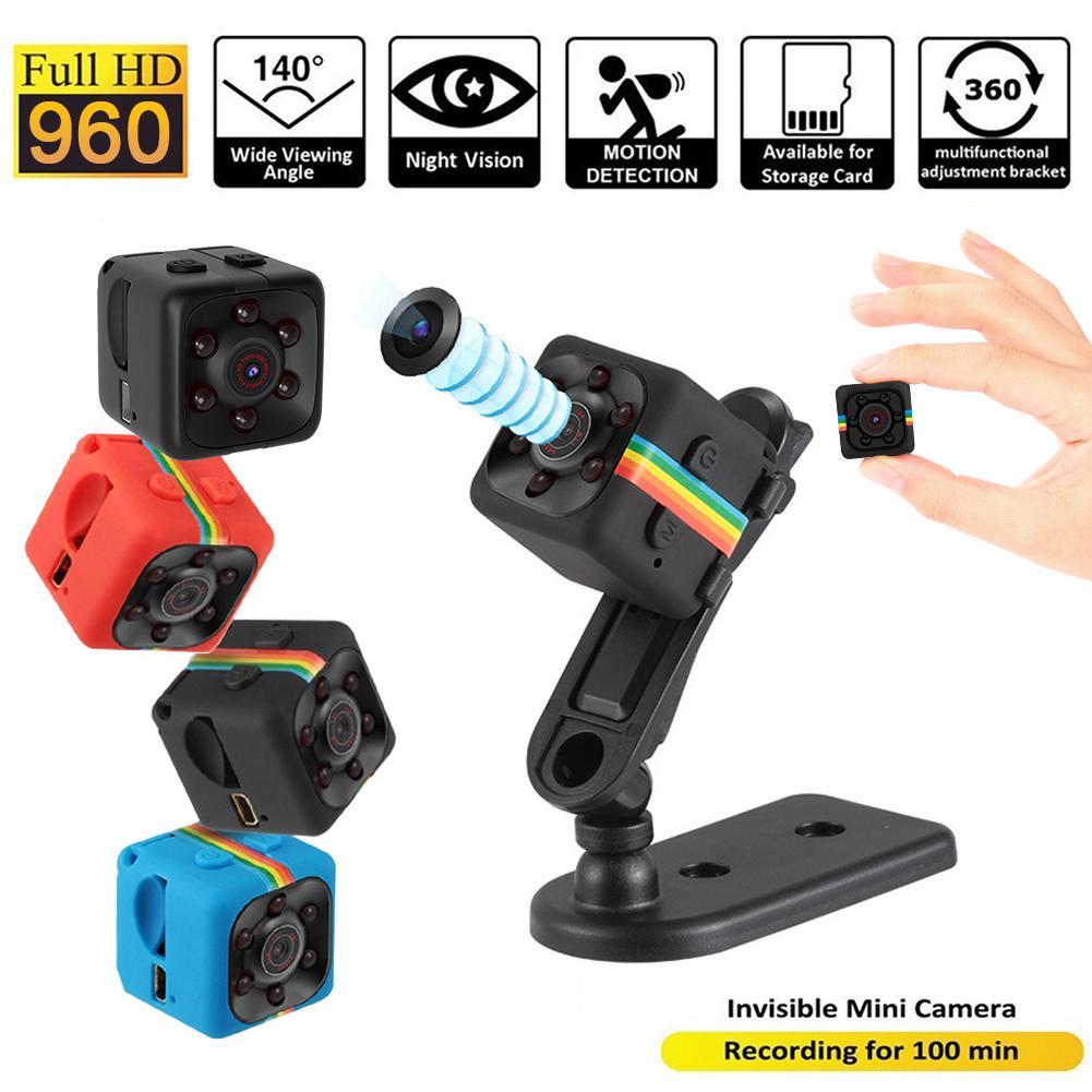 Camera Mini Loại 10 Trở Lên Sq11 Nhỏ Cam, Máy Quay Cảm Biến Tầm Nhìn Ban Đêm 720P Micro Video Máy Ảnh Máy Ghi Hình Chuyển Động Dvr Dv Camera 3 Màu Cho Máy Quay Mini Mac Os
