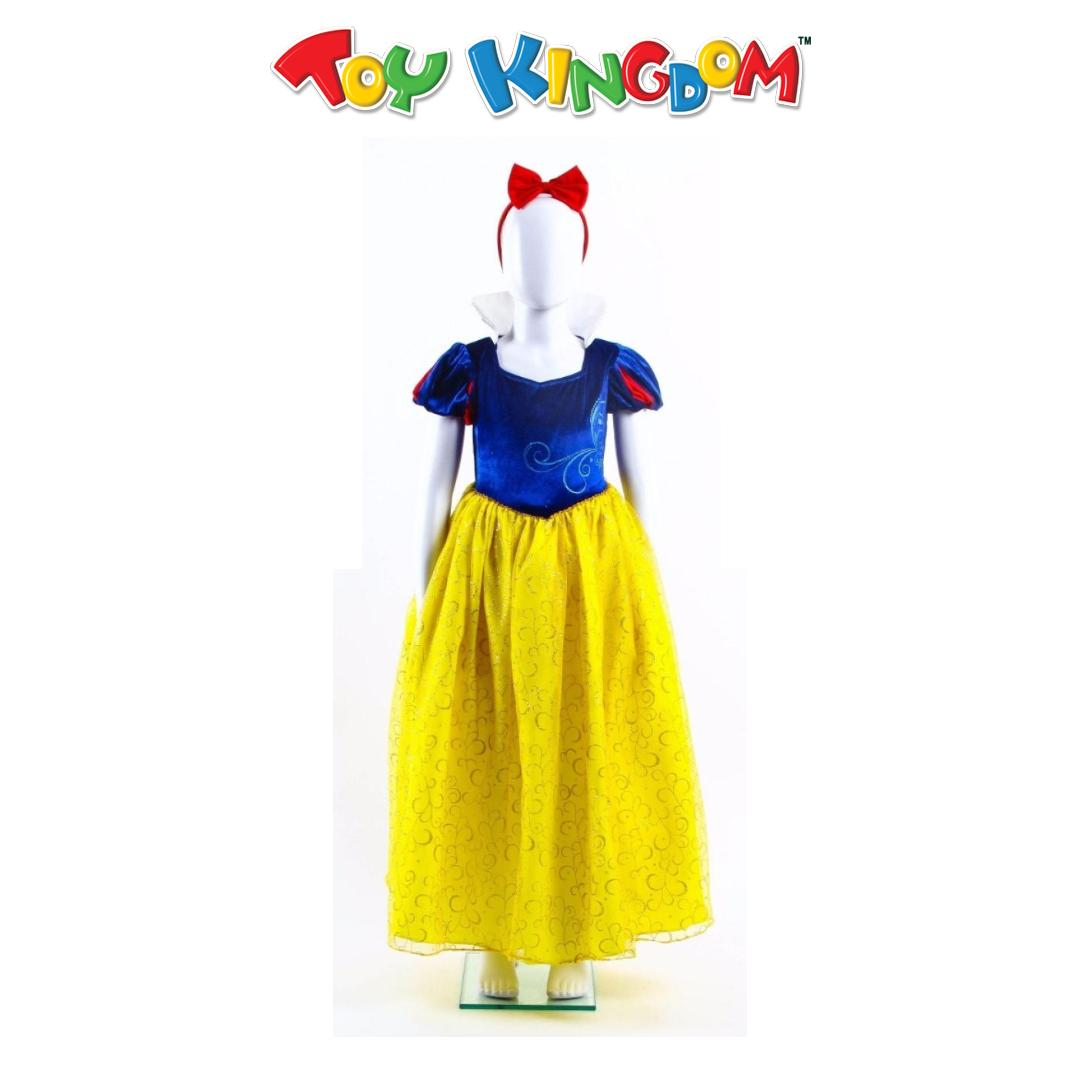 9c78f3cac44dd Disney Princess 2017 GNC Snow White Blue Gown Costume- Medium