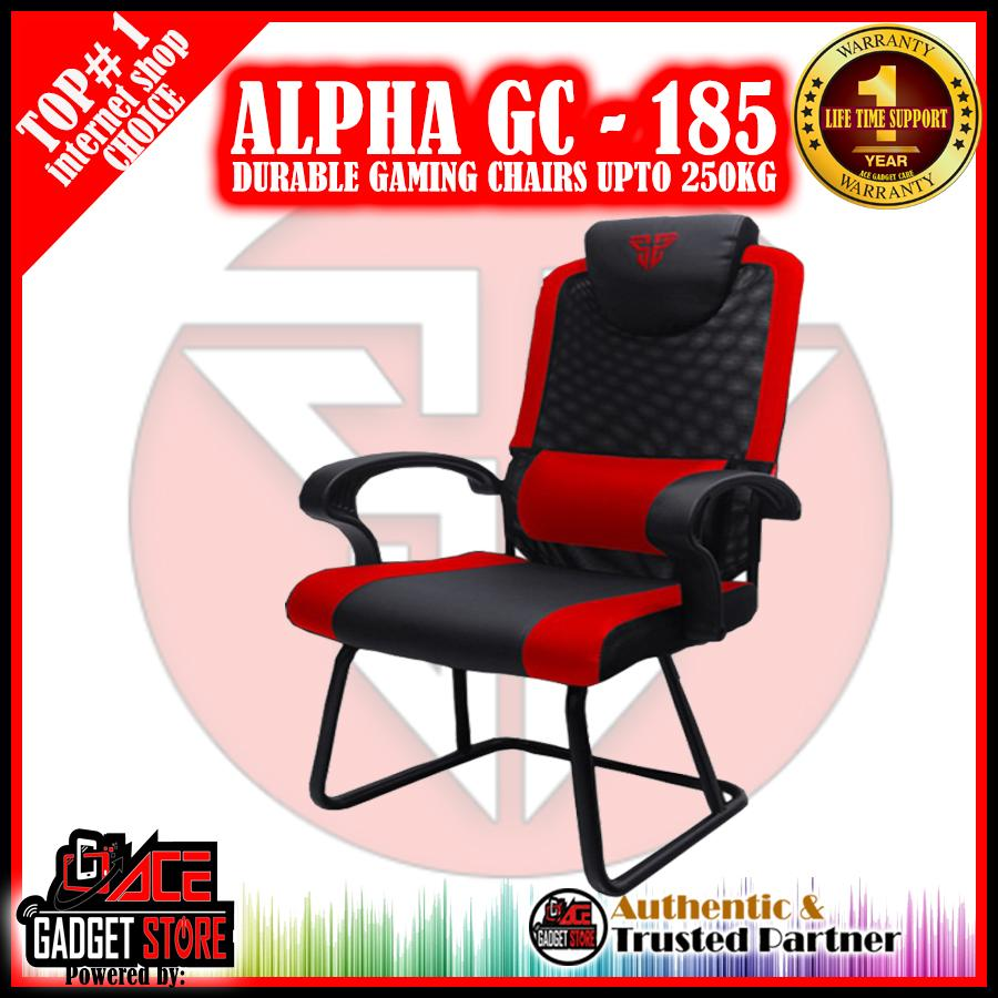 Fantech Gc 185 Alpha Gaming Chairs Top Of The Line Durable (red/black) By Acegadgetstoreph.
