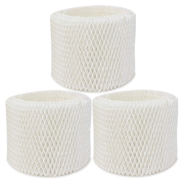 3 Pack Replacement Humidifier Filter For Vicks & Kaz Wf2 Humidifier V3100,V3500,V3500N,V3600,V3700,V3800,V3850,V3850Juv,V3900,V3900Juv,Vev320 Singapore