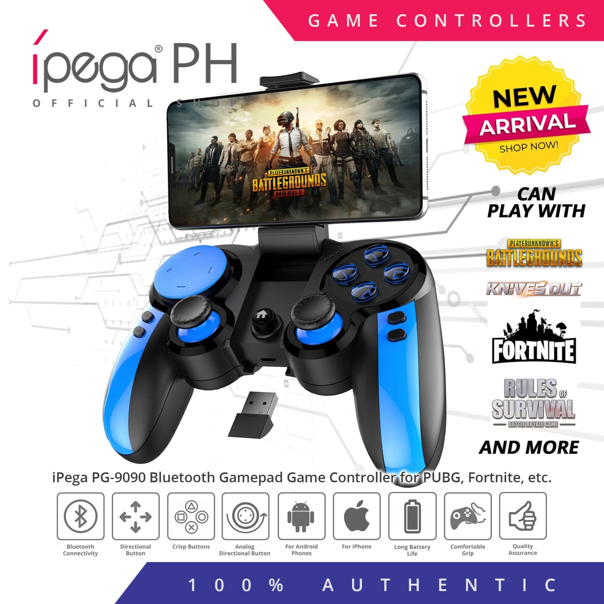 Ipega PG-9090 Blue ELF 2 4G Bluetooth Wireless Game Controller for Android  smartphones and tablets