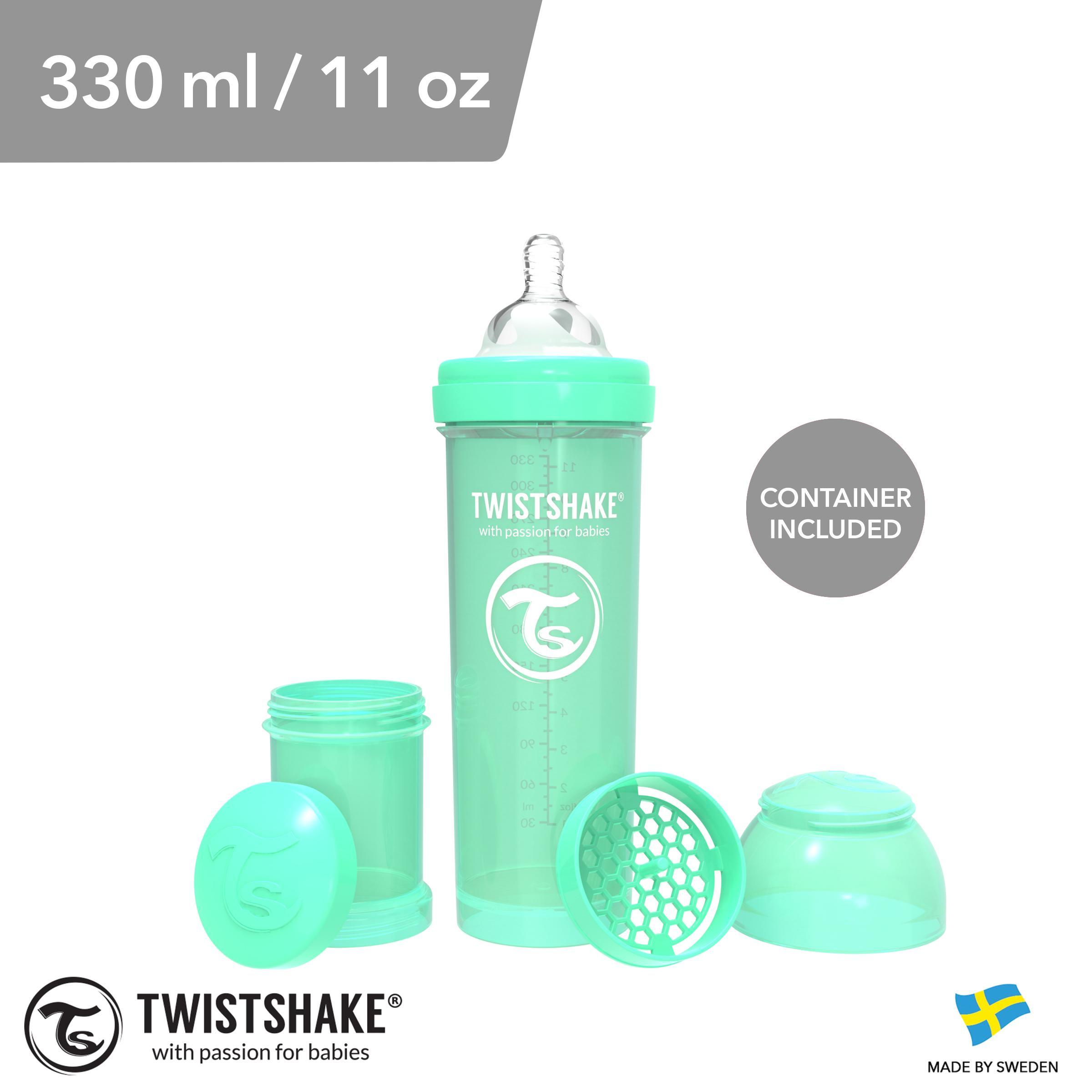 Twistshake Anti-Colic Bottle Green 330ml