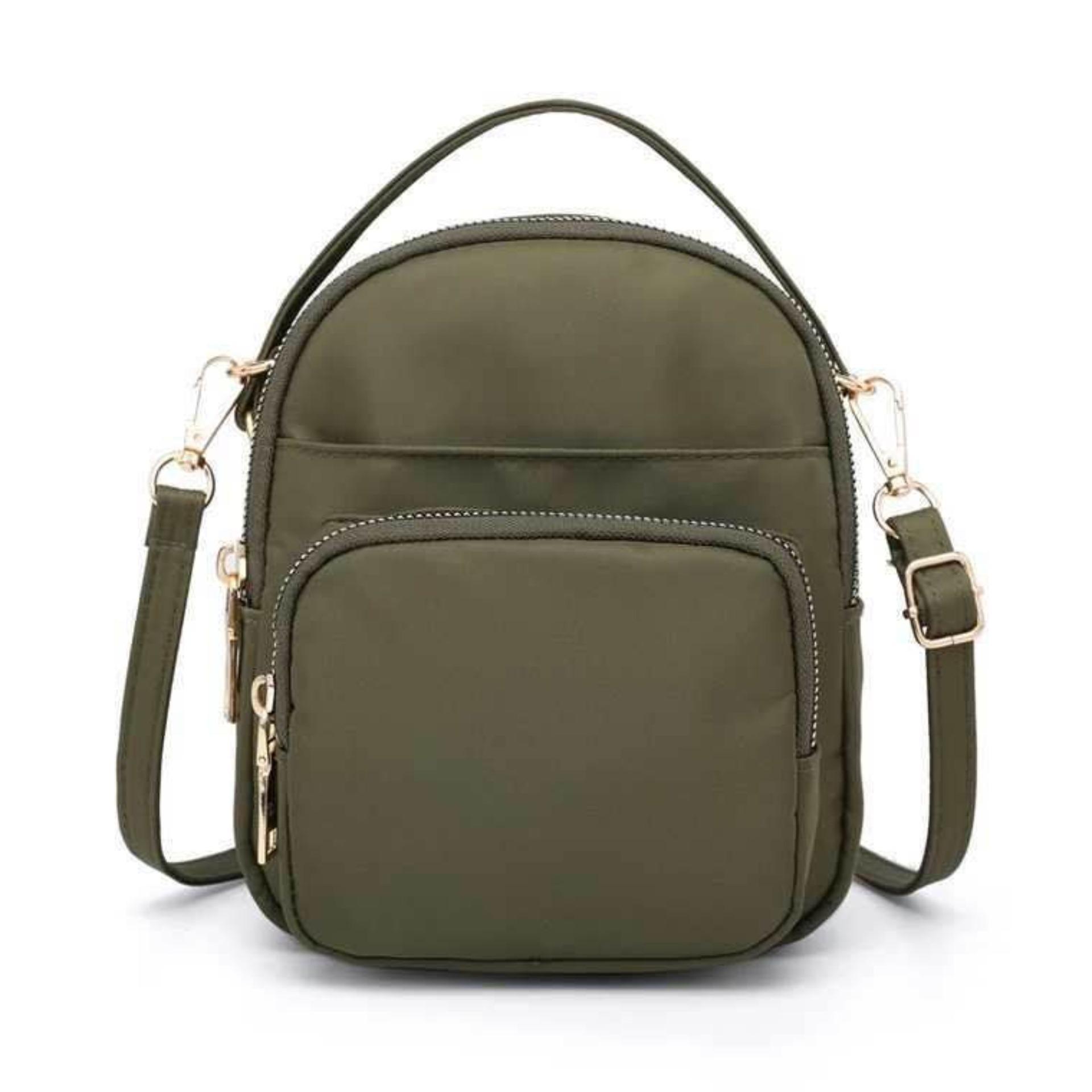 00efeb7e730 Ella Fashion  495 Waterproof nylon bag ladies small square bag mobile phone  handbag Sling Bag