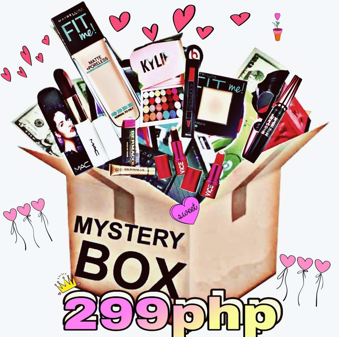 CUSTOMIZED MYSTERY BOX up to 8 items ( beauty products and many more ) Philippines