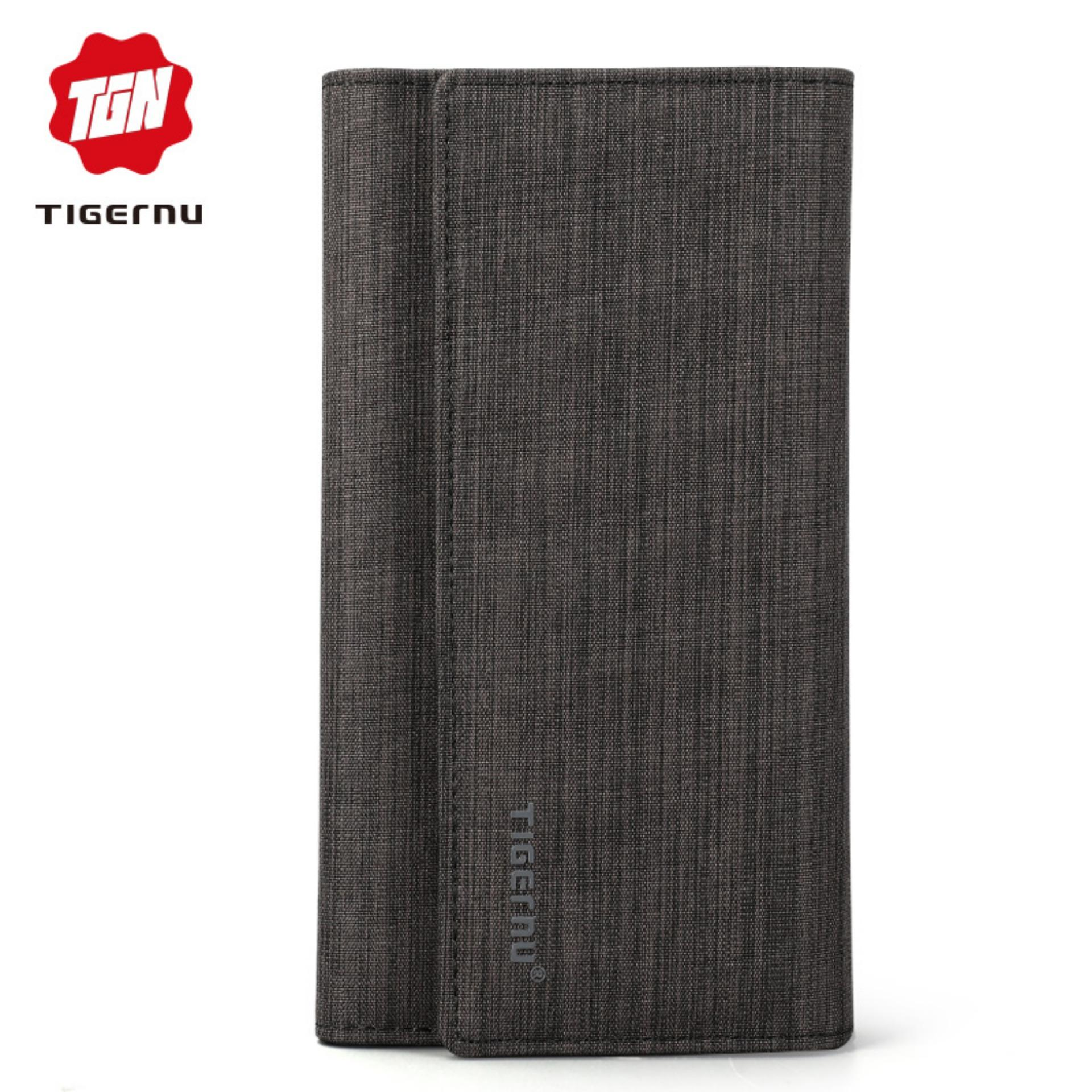2bd45b60109 Tigernu Brand Long Clutch Wallets Men Slim Purse Fashion Male Coin Pocket  Wallets For Men