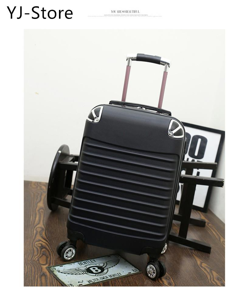417ae6eb1  Ready Stock Password Suitcase with Explosion Proof Zipper Hard Case Luggage  Hand Carry Suitcase