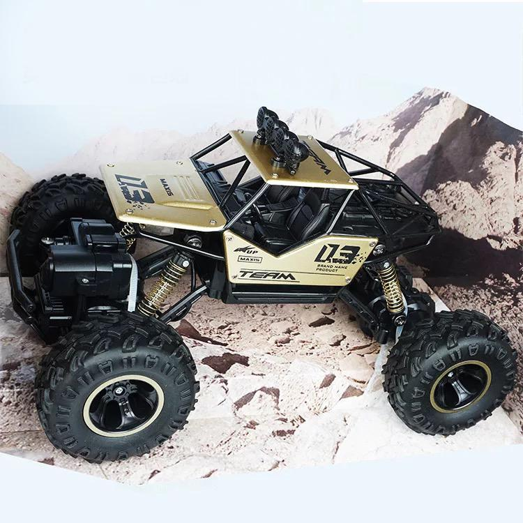 6141 Four Wheel Rock Crawler Monster Car High Speed rc hobby remote control  truck toy climbing 4WD rechargeable