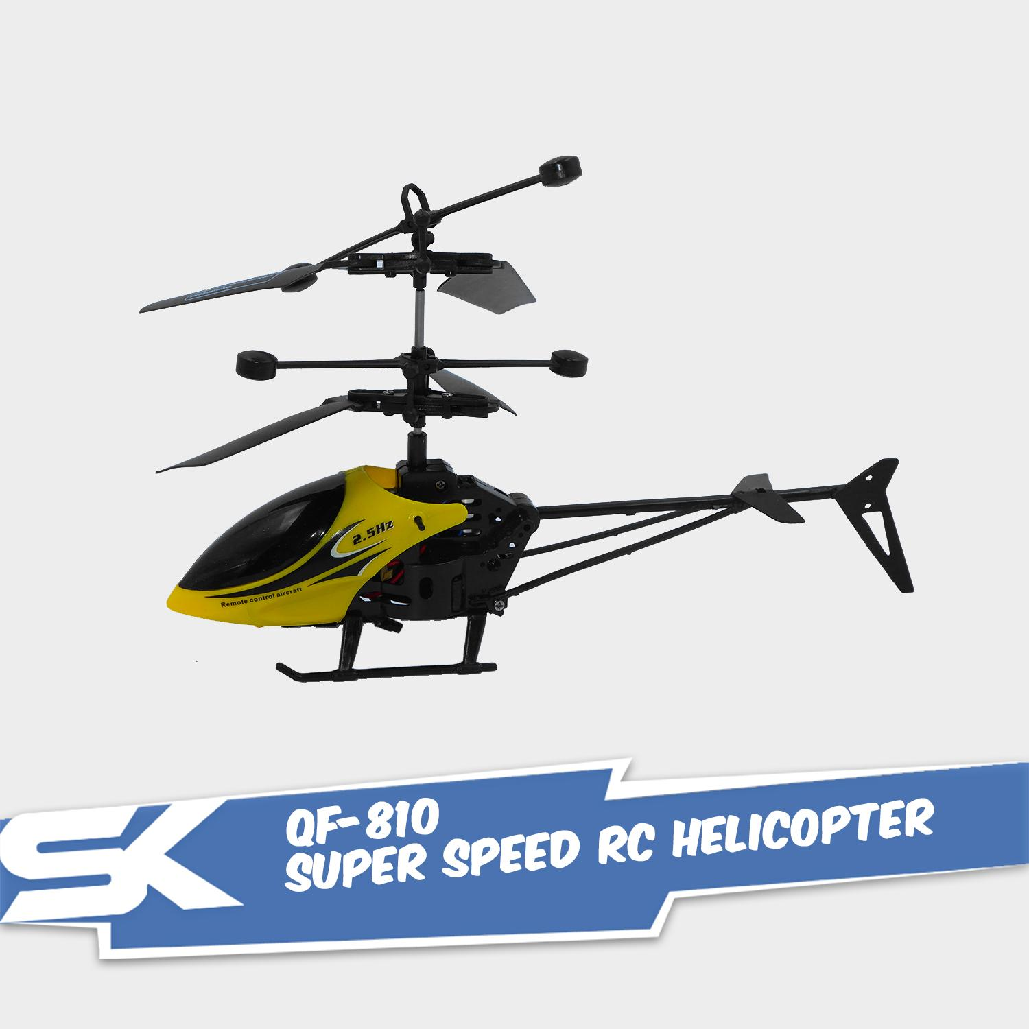 Qf-810 2.5 Super Speed Rc Helicopter By Sk Technologies.