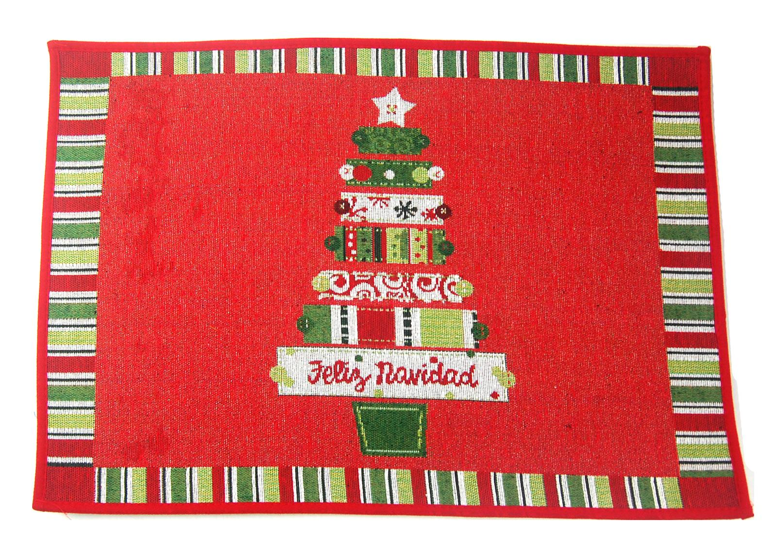 40cm X 60cm Christmas Doormat Rug With Anti Slip Backing