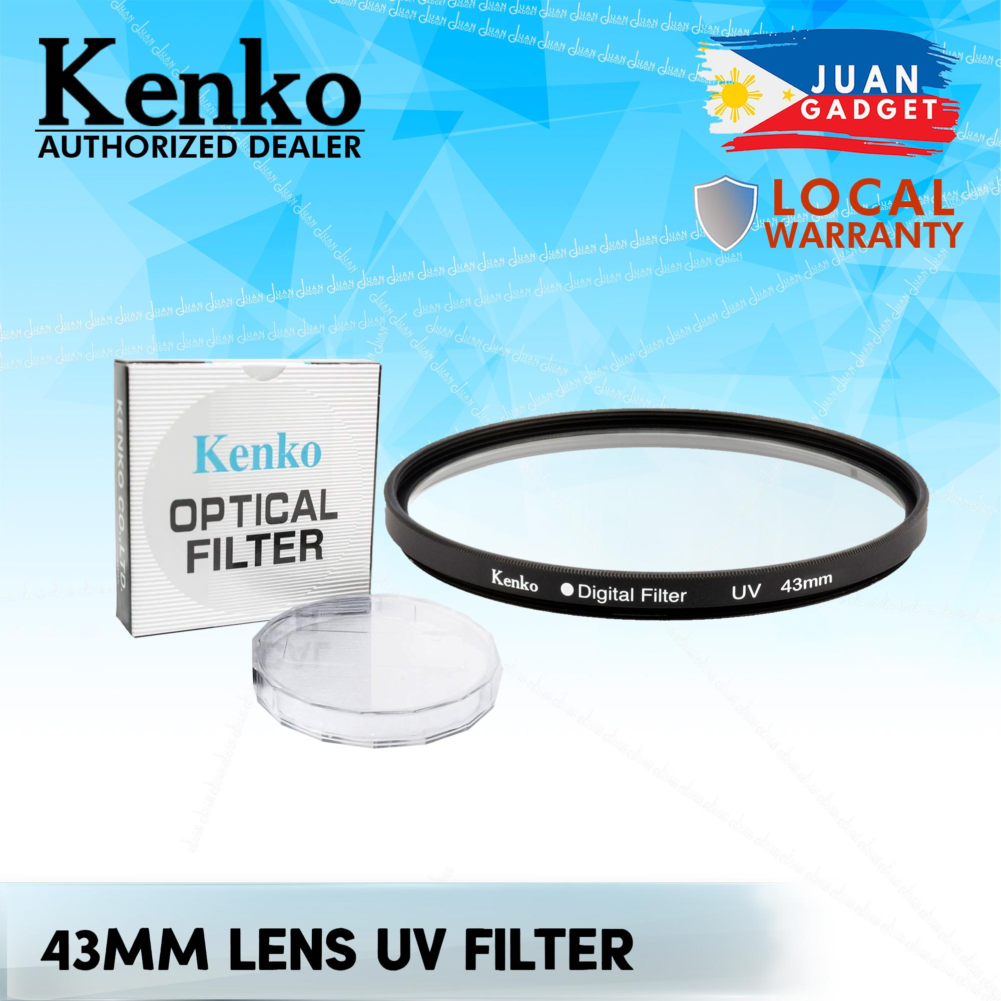 Kenko Uv Lens Filter 43mm For Dslr Canon Nikon Sony Pentax By Juan Gadget.