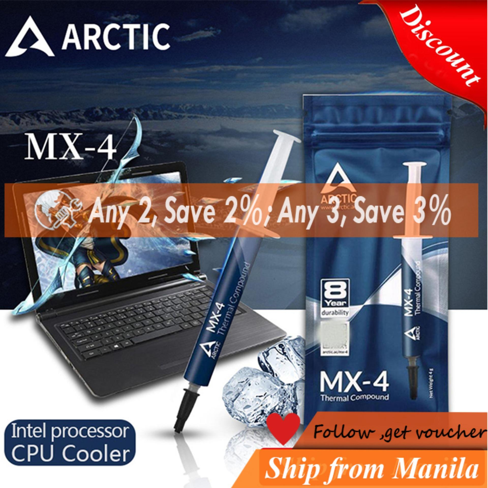 ARCTIC MX-4 4g AMD Intel processor CPU Cooler Cooling Fan Thermal Grease  VGA Compound Heatsink Plaster paste