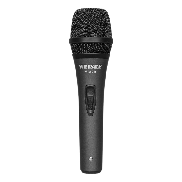 WEISRE Metal Dynamic Coil Type High Quality Wired Microphone K Song Entertainment Broadcast Microphone Professional Microphone