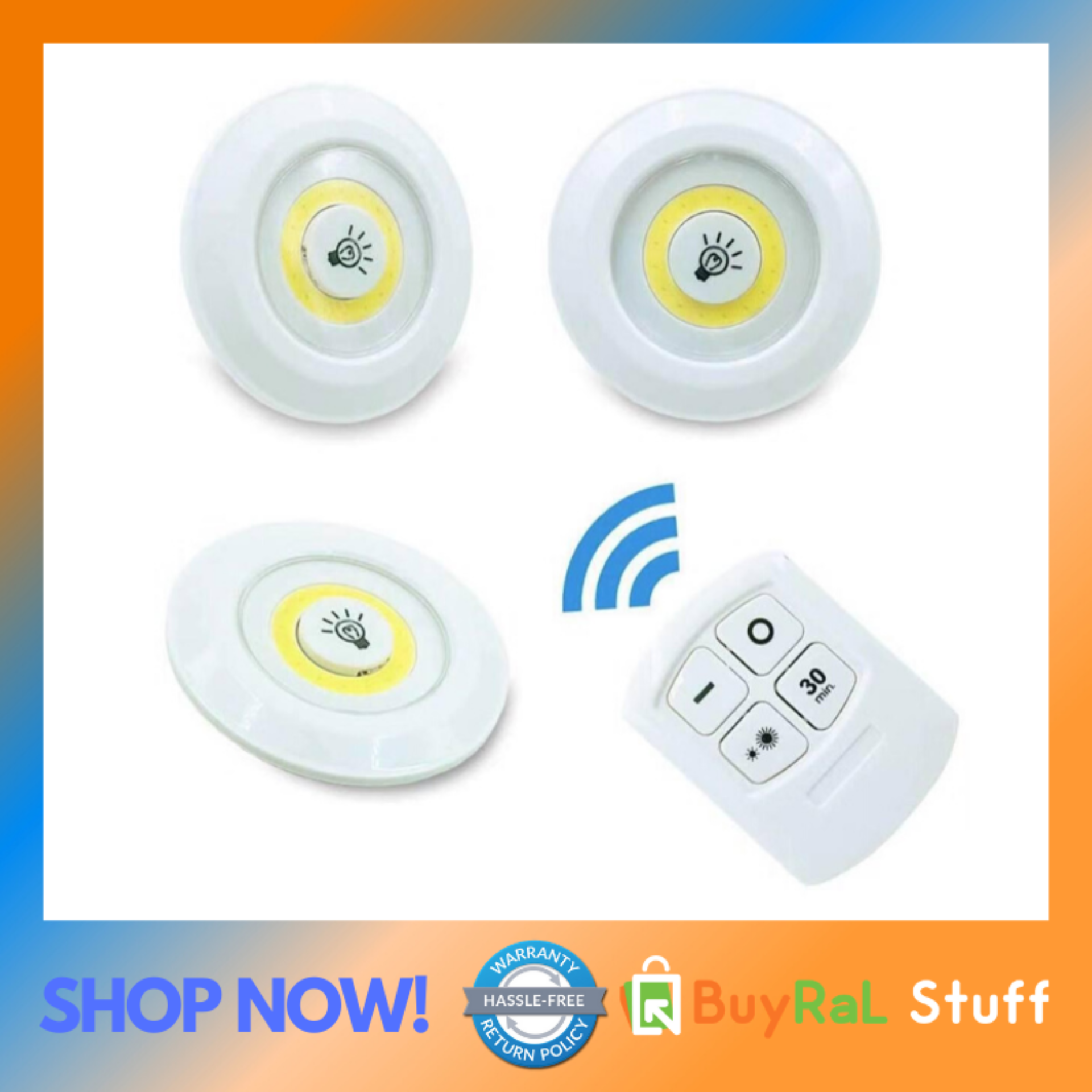 Touch Tap Light With Wireless Remote