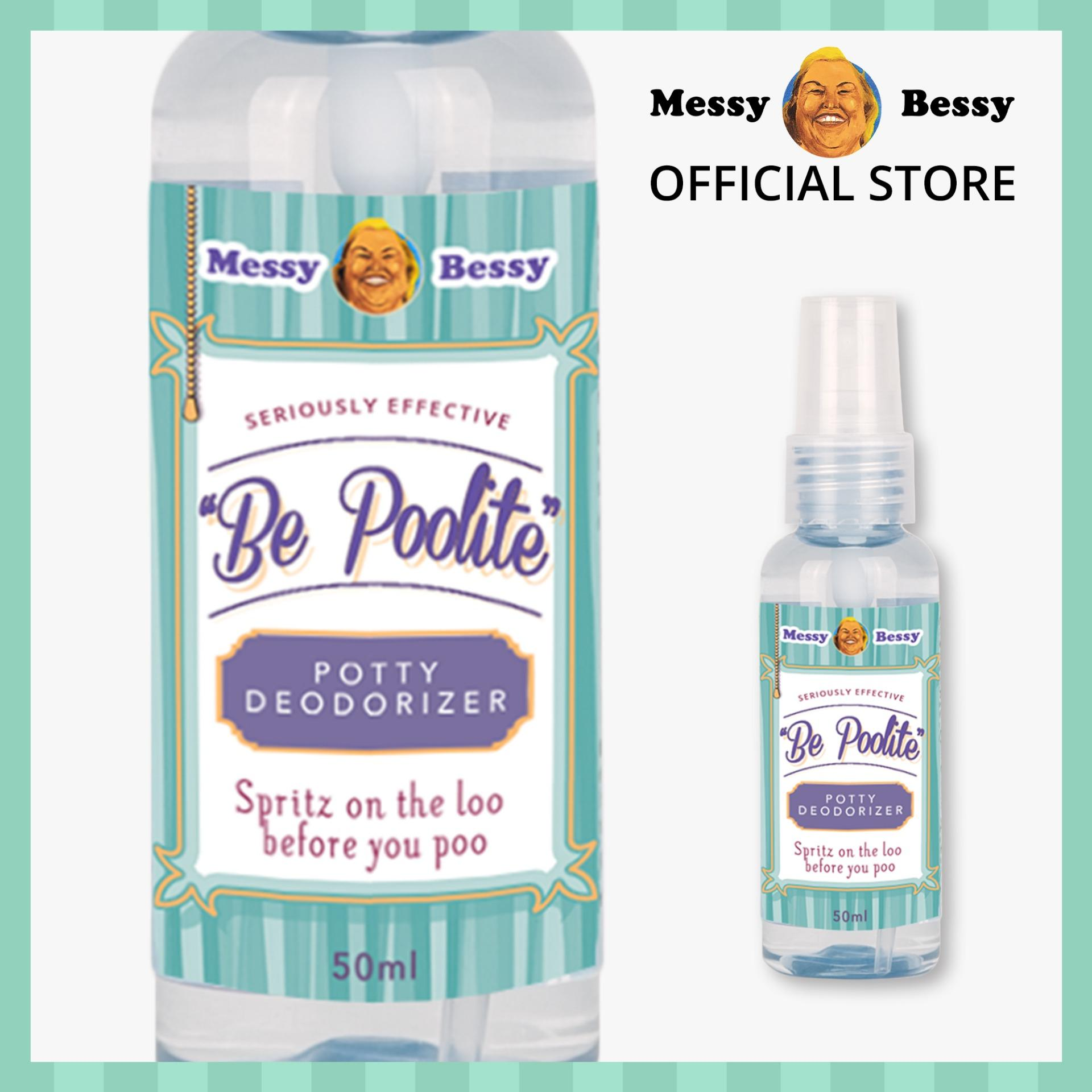 Messy Bessy Be Poolite Deodorizer 50ml By Messy Bessy Official.