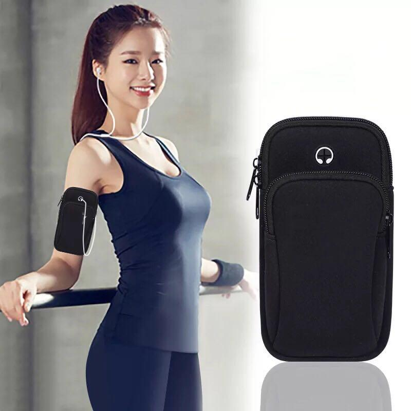Mobile Phone Accessories Popular Brand Gym Sports Running Armband For Iphone X Xs 5 Se 6 6s 7 8 Plus Mobile Phone Arm Bag Pouch Belt Wristband For Smartphone Below 6