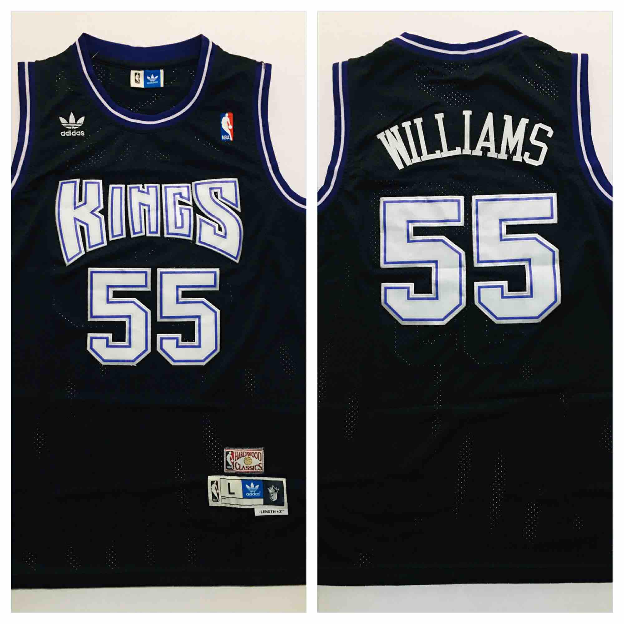 huge discount 9e6dd 23fc2 Retro Jersey/Sacramento Kings/Williams