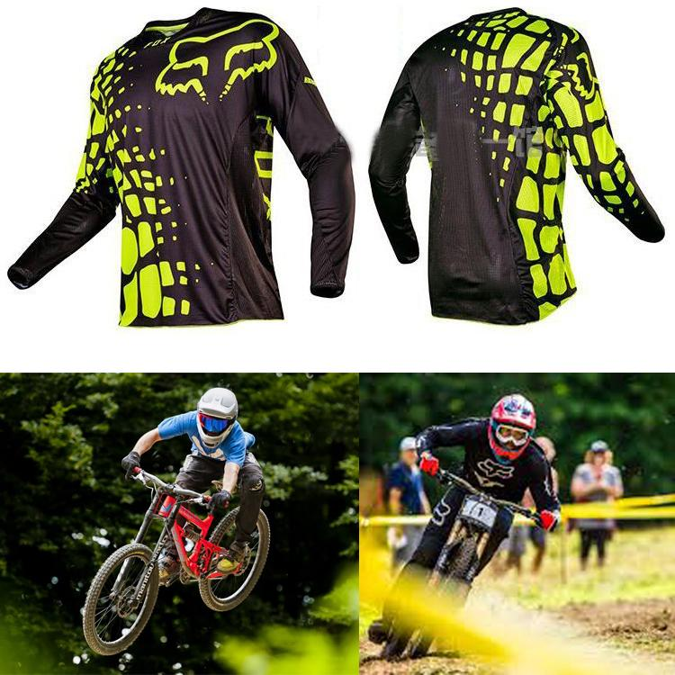 aza.23 Spandex Fox Longsleeve Men s Sportswear Quick DryFortress Cycling  Mountain Bike Motocross Motorcycle  6190b9738