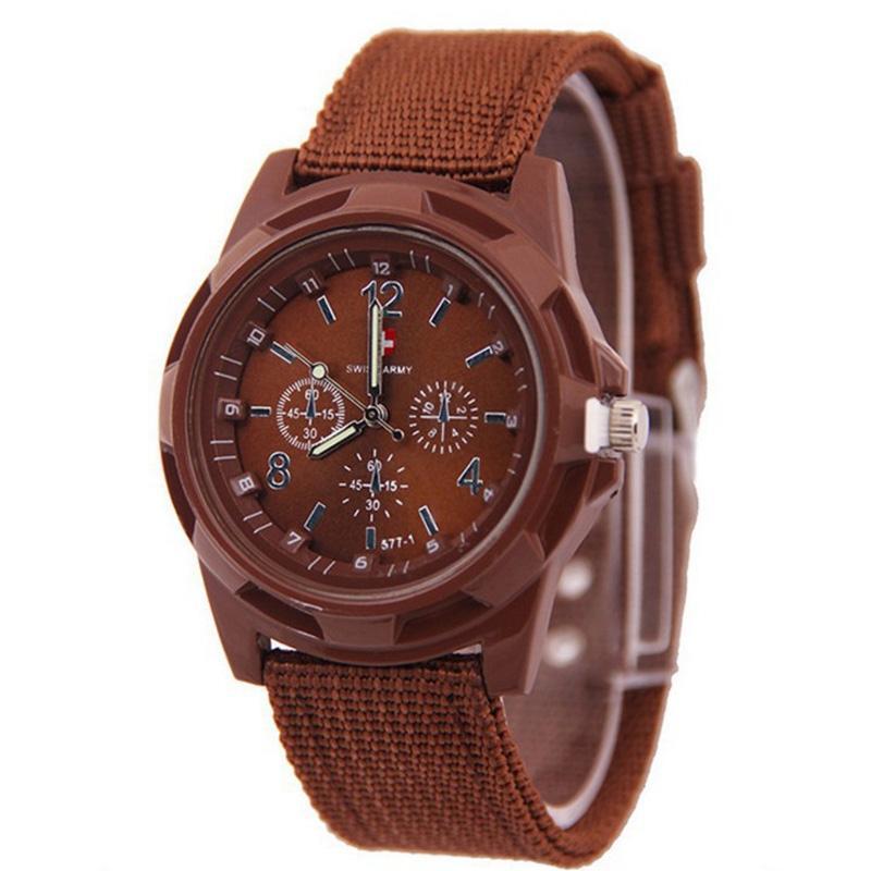 f89ee8a4d22fb8 Classic men's and women's sea and land watches outdoor fashion braided belt  Gemius /Swiss watch