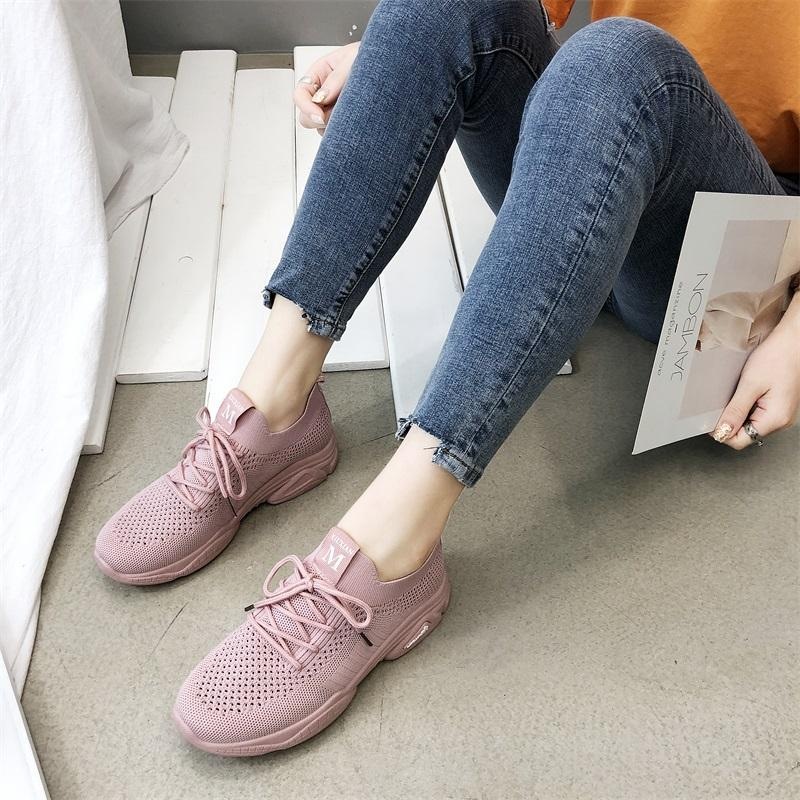 2019 New Style Summer Korean Style Fashion Students Leisure Breathable Oldpapa Running Athletic Shoes Female Ins เสื้อผ้าแฟชั่น Versatile Trendy Shoes By Taobao Collection.