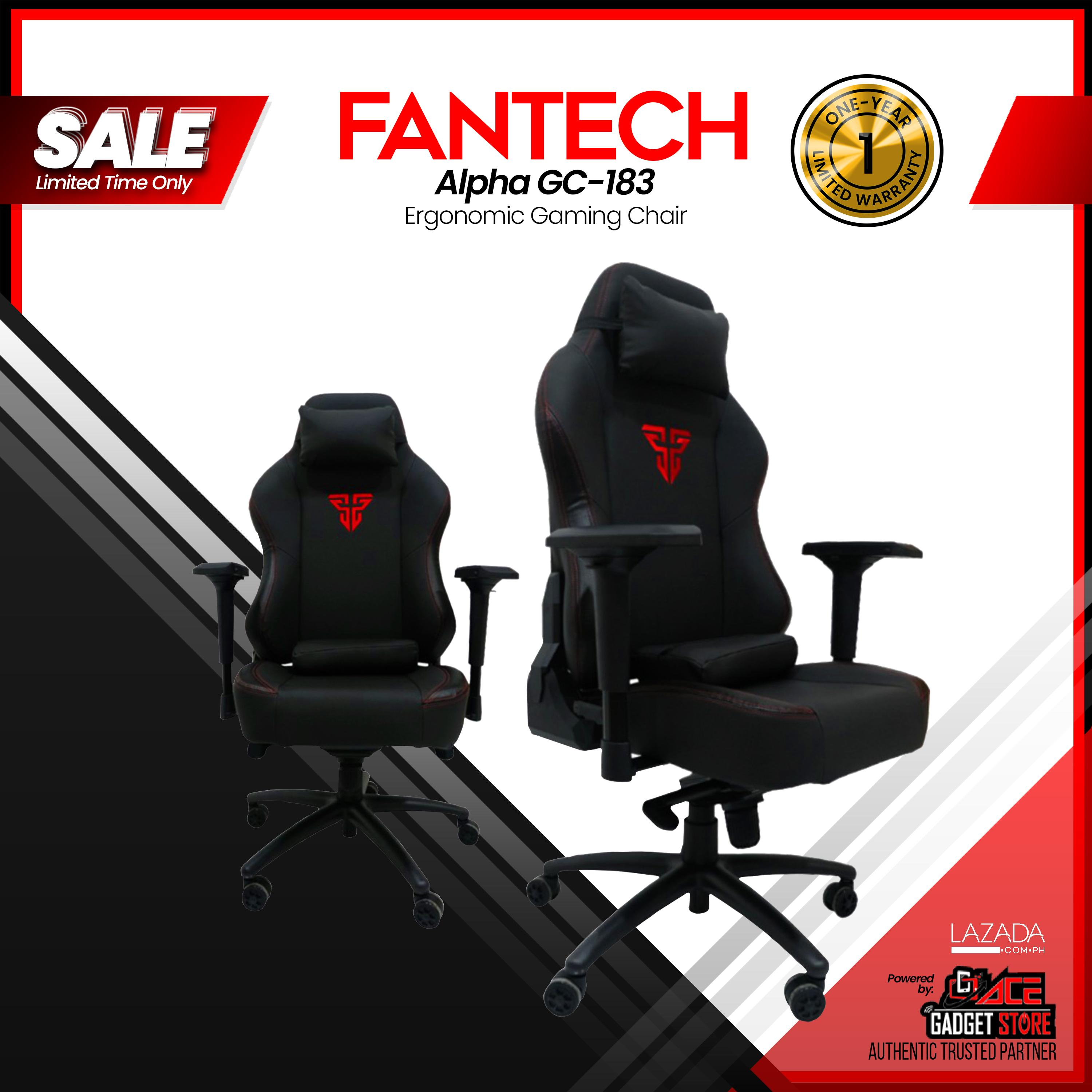 Fantech Alpha GC 183 Gaming Chair, High Quality Gaming Chair with Class 4  Hydraulic Piston, Detachable Lumbar Support