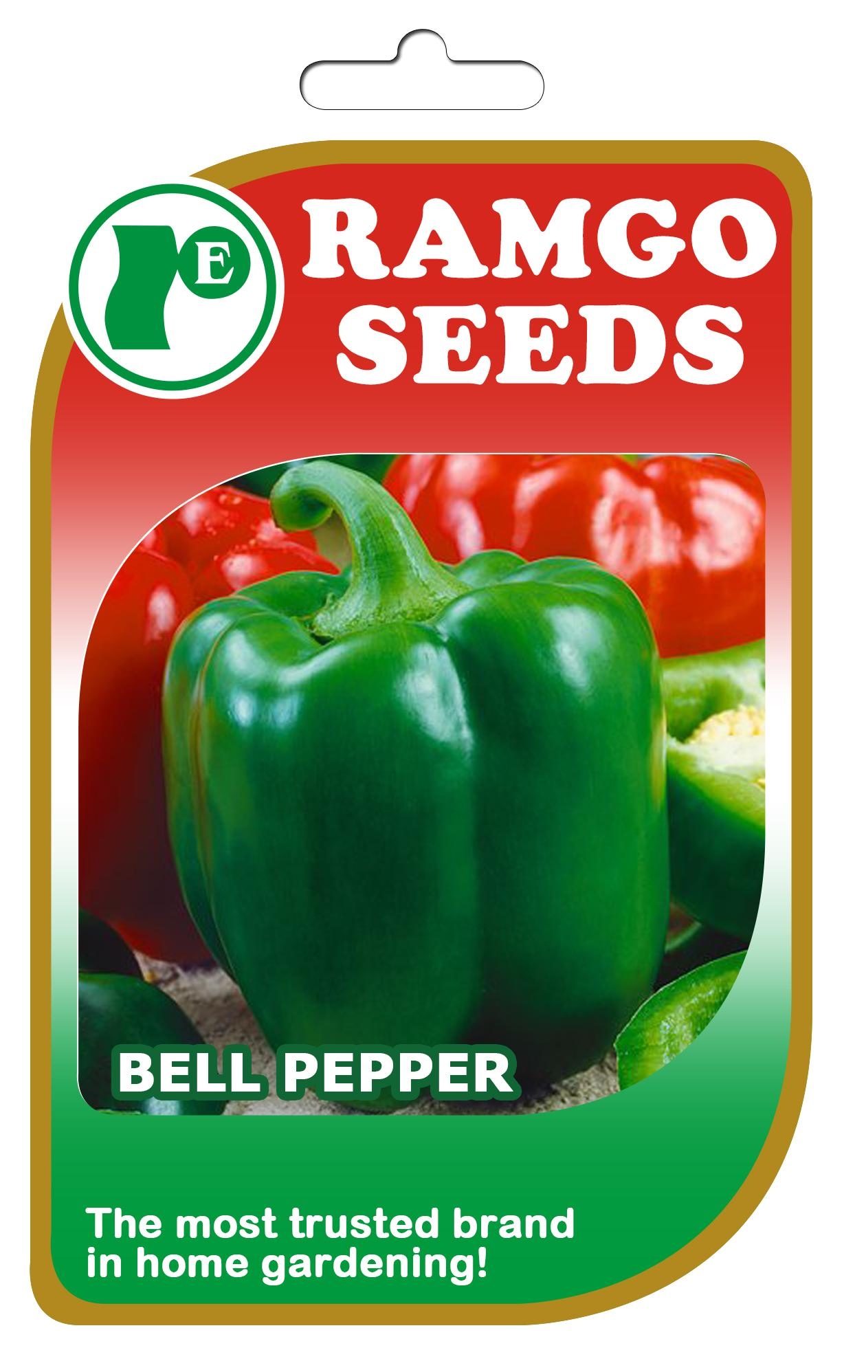 Bell Pepper Seeds By Ramgos Garden And Farm Store.