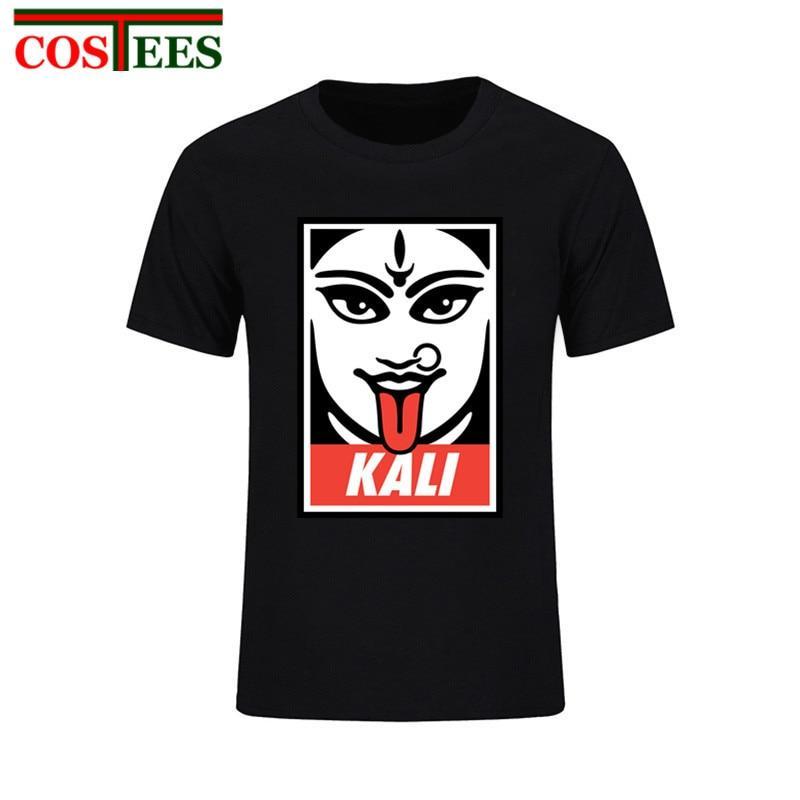 Hindu Goddess Kali II T-Shirt Men Youth Pure Cotton Short Sleeve Man Tee  Shirt 3082891de