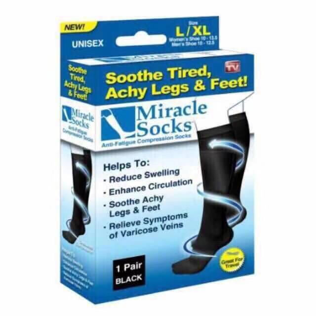 Miracle Socks Anti-Fatigue Compression Socks By Waroom Online.