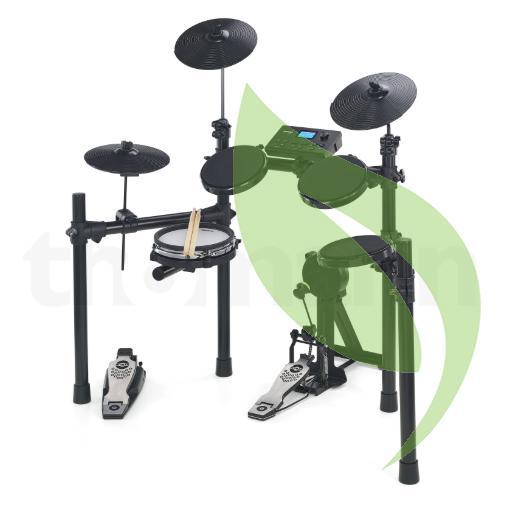 Electronic Drumset Hitman HD17 MAKO (alternative choice to: Ringway TD-82  TD-92 Hitman HD-17 HD4 HD-4M HD3 NUX DM1 DM2 thomson td07 alesis dm lite