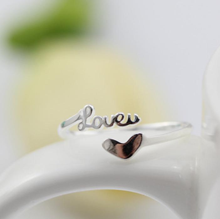 Rp 135.256. Tembaga korea berlapis perak 2 versi korea dari cincin ...