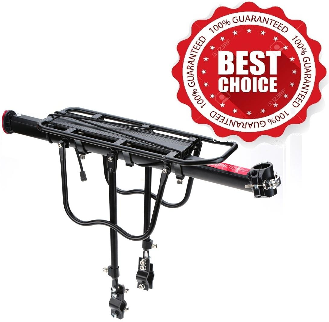 Quick Release Mtb Aluminum Alloy Adjustable Rear Bike Carrying Bag Carrier Rack 0096 By Emerison Merchandise.