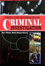 Effective Techniques In Criminal Investigation By Wisemas Books Trading, Inc.