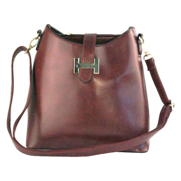 Elena 903 Crossbody Bag Coffee