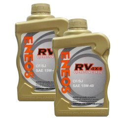 Eneos RV 4x4 CF/SJ SAE 15w-40 Pro-Rally Motor OiL 1L Bundle of 2