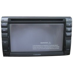 Equinox ATV-6065D Double Din Dvd 6.2 Inches Screen (Black)
